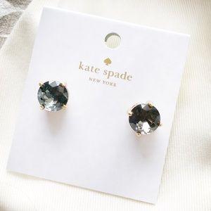 Kate Spade Grey Gumdrop Stud Earrings